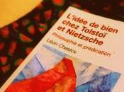 #2020RacontePasTaVie jour 238, livre mardi vacances L'Idée Bien chez Tolstoï Nietzsche Léon Chestov