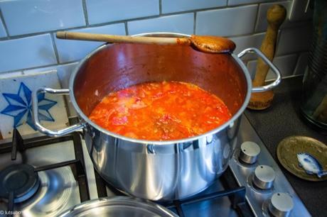 Envie d'Inde (toujours) – Curry d'aubergines et de petits pois