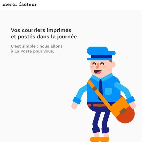 Envoyer un courrier en France lorsqu'on est expatrié grâce à Merci Facteur (+ code promo)