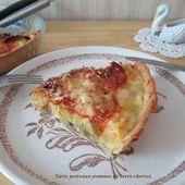 Tarte poireaux-pomme de terre-chorizo - Mes recettes et photos de gâteaux