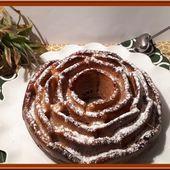 Gâteau au yaourt et à l'ananas - Oh, la gourmande..