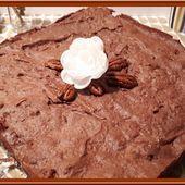 Brownie au chocolat de Cyril Lignac - Oh, la gourmande..