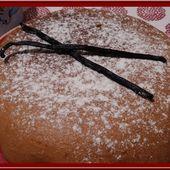 Gâteau vanille au thermomix - Oh, la gourmande..