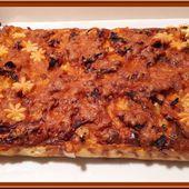 Tarte aux Poireaux, Pommes de Terre et Chorizo - Oh, la gourmande..