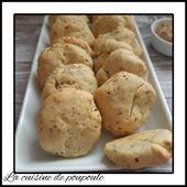 Biscuits à la moutarde à l'ancienne