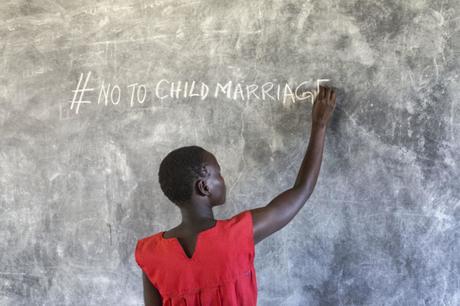 Avec L'Unicef et Go Girls, luttons contre le mariage forcé des enfants