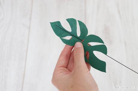 DIY : Plante en papier