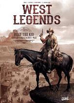 West legends T2 : Billy the Kid  - Christophe Bec, Lucio Leoni - Emanuela Negrin