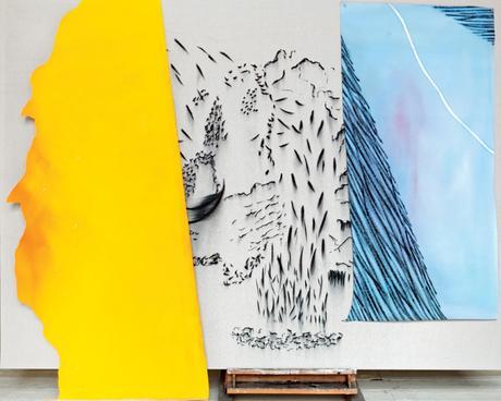 Exposition de Catherine Violet, au Galerie Jean-Collet Vitry