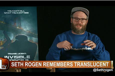 THE BOYS : Seth Rogen's blue crewneck sweatshirt in S2E01