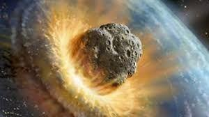 asteroide collision