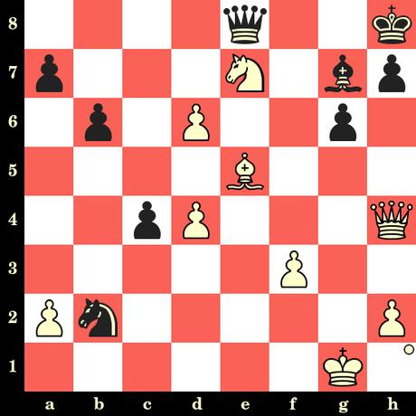 Les Blancs jouent et matent en 4 coups - Mark Kvetny vs Jakob Pfreundt, Magdebourg, 2019