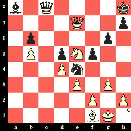 Les Blancs jouent et matent en 4 coups - Evgeny Postny vs Alexander Yakimenko, Prague, 2019