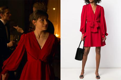 YOUNG WALLANDER : Mona's red dress in S1E05