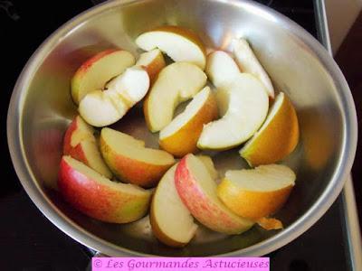 Chou rouge aux pommes (Vegan)