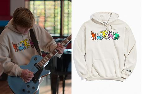 JULIE AND THE PHANTOMS : Nick's Keith Haring hoodie in S1E01