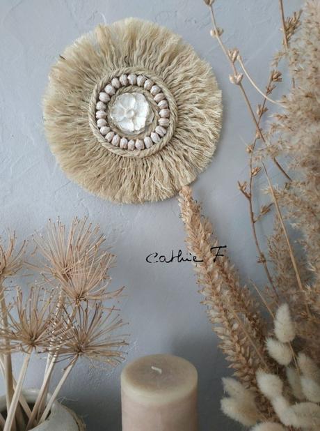 Juju hat en corde décoration style Afrique - blog déco - clematc