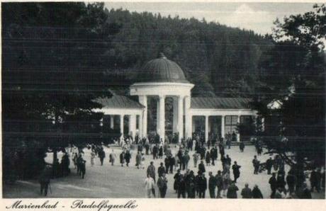 La source Rodolphe à Marienbad
