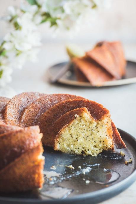 Bundt cake citron et pavot