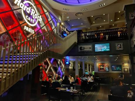 Hard Rock Cafe Paris HRC restaurant
