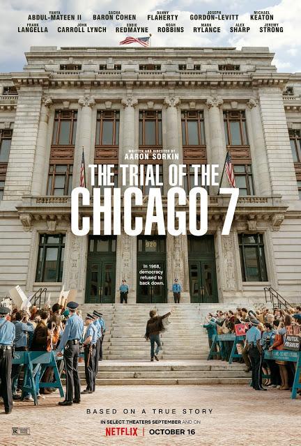 Bande annonce VOST pour Les Sept de Chicago signé Aaron Sorkin