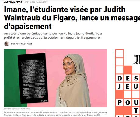 CONTRE LA HAINE, l'heure est venue de choisir ton camp, camarade  !  #JeSoutiensImane #racisme