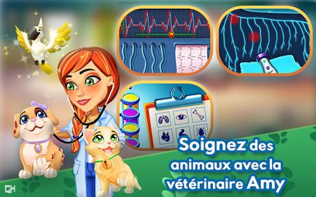 Télécharger Dr. Cares - Amy's Pet Clinic 🐈 🐕  APK MOD (Astuce) 1