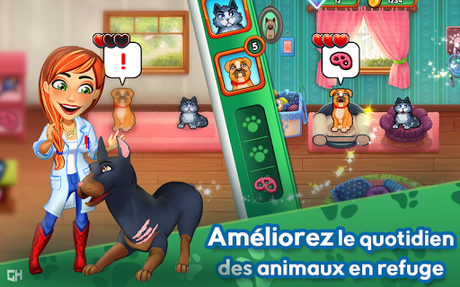 Télécharger Dr. Cares - Amy's Pet Clinic 🐈 🐕  APK MOD (Astuce) 3