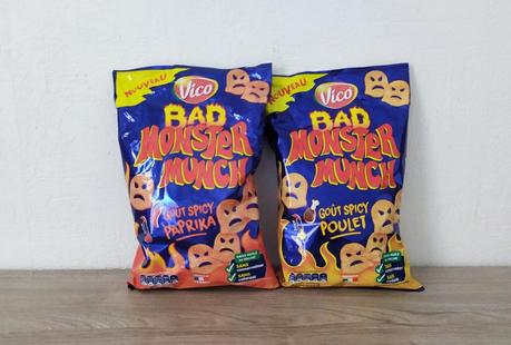Bad Monster Munch Spicy Paprika et Spicy Poulet