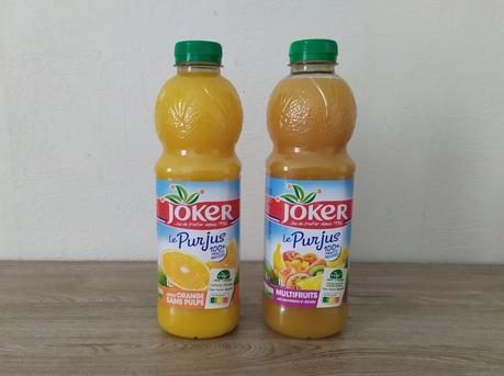 Pur Jus d'Orange sans Pulpe ou multifruits JOKER