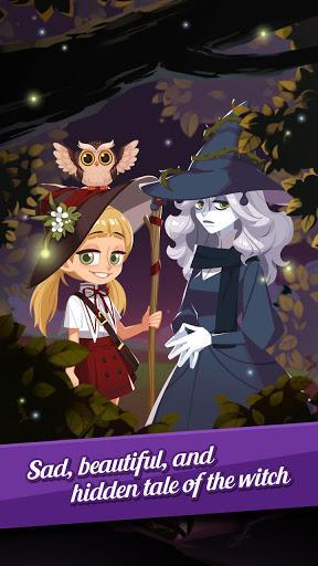 Télécharger Witch's Garden: puzzle APK MOD (Astuce) 4