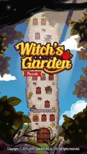 Télécharger Witch's Garden: puzzle APK MOD (Astuce) 5