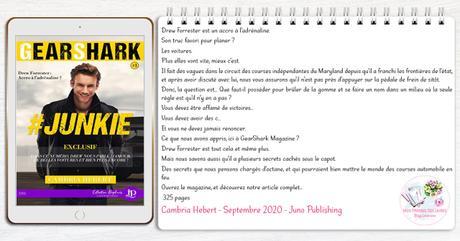 Gearshark #1 – #Junkie – Cambria Hebert