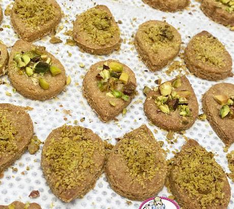 Biscuits à la farine de pois chiches