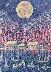 Galerie LEE –  Chankrim Mil Chanpenh Nget  Seyha Hour  Bor Hak -8/31 Octobre 2020
