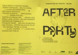 « Fondation du Doute » à Blois  « After Party » 26 Septembre au 29 Novembre 2020