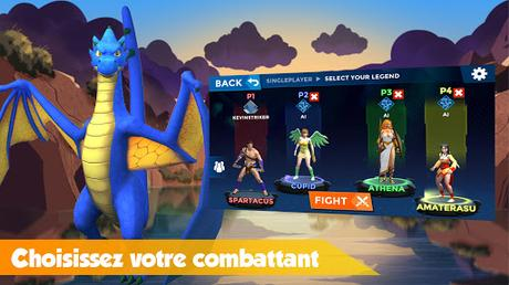 Télécharger Rumble Arena - Super Smash Legends APK MOD (Astuce) screenshots 2
