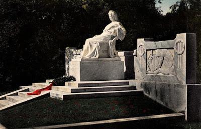 Un monument voyageur  de l'impératrice Elisabeth d'Autriche : de Franzensbad à Feldafing