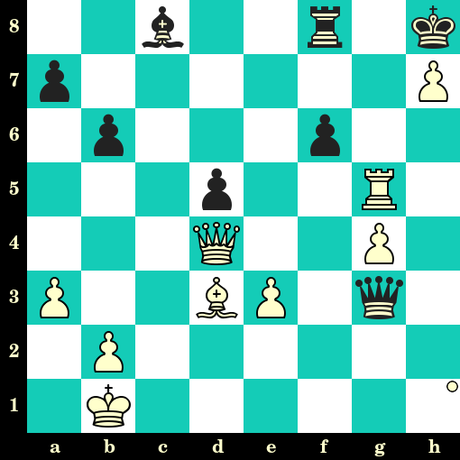 Les Blancs jouent et matent en 2 coups - Qian Huang vs Polina Shuvalova, Moscou 2019