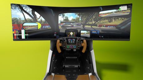 Aston Martin dévoile le premier simulateur de course de son histoire