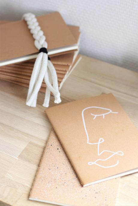 pimper son carnet agenda calepin rentrée personnaliser dessin graphique ado