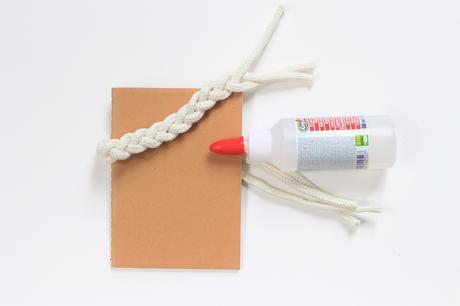 personnaliser un calepin cordage ficelle décoration blog - clem around the corner