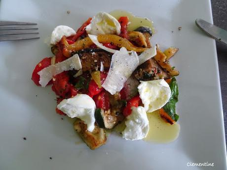 Salade des beaux jours de Sandrine Bonnaire
