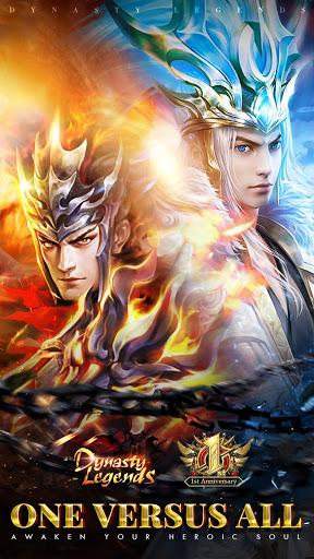Code Triche Dynasty Legends: True Hero Rises from Chaos  APK MOD (Astuce) 1