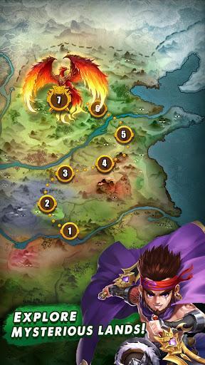 Code Triche Three Kingdoms & Puzzles: Match 3 RPG  APK MOD (Astuce) 4
