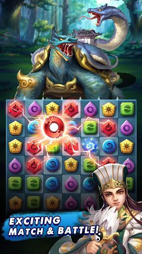 Code Triche Three Kingdoms & Puzzles: Match 3 RPG  APK MOD (Astuce) 1
