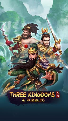 Code Triche Three Kingdoms & Puzzles: Match 3 RPG  APK MOD (Astuce) 5