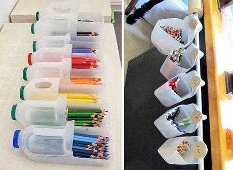 Mes Ouvrages - Un Vase et Rangement de crayons
