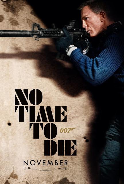 Nouvelle affiche US pour Mourir Peut Attendre de Cary Joji Fukunaga