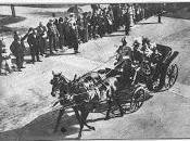 Marienbad août 1904 rencontre deux monarques. excellent dîner peut-être politique...